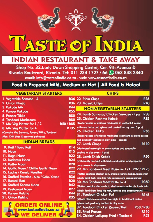 Indian Restaurants That Cater