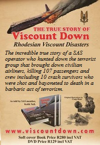 www.viscountdown.com - Buy Rhodesian Viscount Disasters book